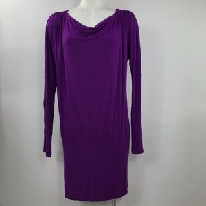 Women's Express Size S Stretch Longsleeve Dress